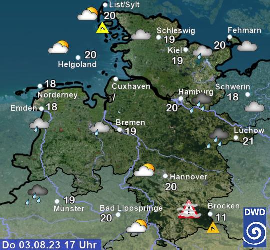 Wetter Nienburg Weser